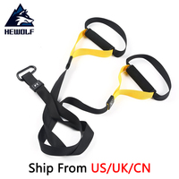 Ship From US UK CN Hewolf Resistance Bands Sport Equipment Strength Trainer Belt Hanging Strap