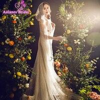 Две ткани можно выбрать новый роскошный дизайн полный Blings Свадебный колпачок e Свадебные обертывания с шапочкой Длинная свадебная куртка, б