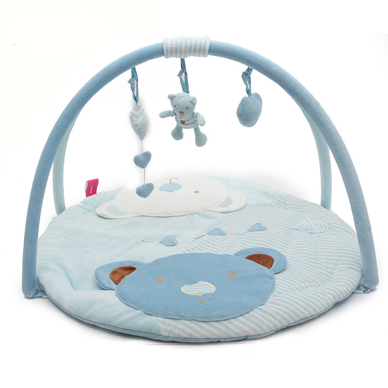 Baby Play Mat Baby Gym Toys 0-12 Months Soft Lighting Rattles Musical Toys For Babies Toys Play Gym PM003 цена 2017