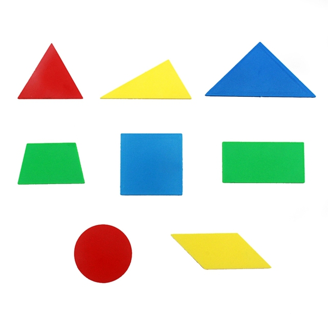 Set of 8 Geometric Shapes