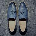 2016 Мужчины Мокасины Из Натуральной Кожи Повседневная Обувь Мужчины Квартиры Оксфорд Обувь Для Мужчин Вождения Обувь