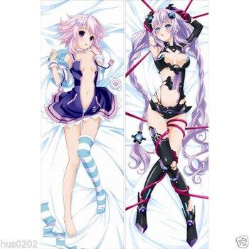 Anime   Japan  Pillow Case Hugging Body 150*50  Peach Skin  Hyperdimension Neptunia