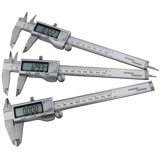 0-150mm/0.01mm electronic Metal Digital Caliper Industrial Calipers Measuring Tools Micrometer Guage D1004