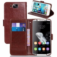 GUCOON Vintage Wallet Case For Oukitel K10000 5 0inch PU Leather Retro Flip Cover Magnetic Fashion