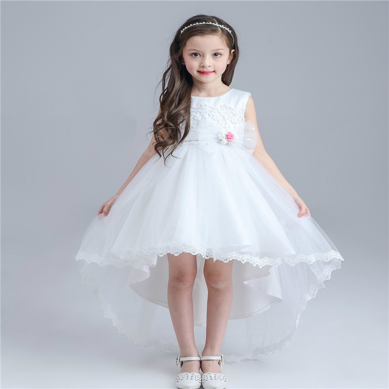 2016 New Baby Girls Tutu Dress Lace Printing Bow Short In ...