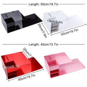 Image 5 - Eyelash Extension Pillow Memory Foam Neck Lash Pillow with Acrylic Shelf Organizer Stand Grafting Eyelash Salon Makeup Tools