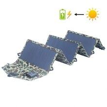Солнечное зарядное устройство 40 Вт портативное зарядное устройство для солнечной панели s 5 V 3A 18 V зарядка для мобильных телефонов планшет блок питания для ноутбука батарея