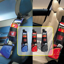 100% Brand new and High quality Auto Car Practical Side Seat Storage Multi-Pocket Net Bag Holder Stowing Tidying