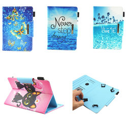 PU Leather Flip 10.1 inch Universal Tablet Case For CHUWI Hi9 Air MT6797 4GB 10.1'' Hi10 Pro / Hibook Pro Stand Protective Cover