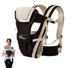 حمالة الطفل 0 30 شهر تنفس الجبهة التي تواجه الطفل الناقل 4 في 1 الرضع مريحة على ظهره الحقيبة التفاف الطفل الكنغر طفل حزام