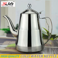 1800ml High quality non-magnetic stainless steel cold water kettle suitable for induction cooker free shipping