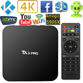 TX3 PRO Smart Android TV Amlogic S905X Quad Core Set Top Box 1GB 8GB Android 6.0 KODI 16.1 4K  TV Box HDMI H.265 WIFI Miracast