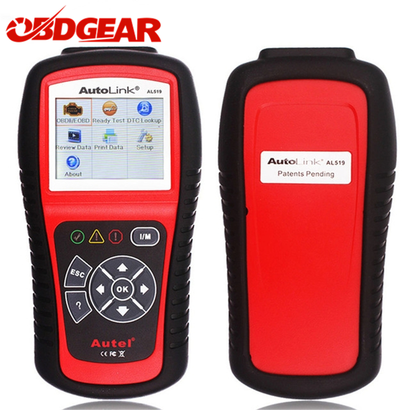 Original Autel Autolink AL519 OBD2 Auto Diagnostic Scanner For All OBD2 CAN EOBD JOBD Autel AL519 Scanner Automotriz Automotivo quicklynks t80 jobd obd2 eobd color display auto scanner t80 for japan cars wider vehicle coverage with can protocol support