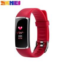 SKMEI Smart Bracelet Sport Fitness Tracker 24 Hours Heart Rate Monotor IP67 Deep Waterproof Super Long Standby Smartband B32