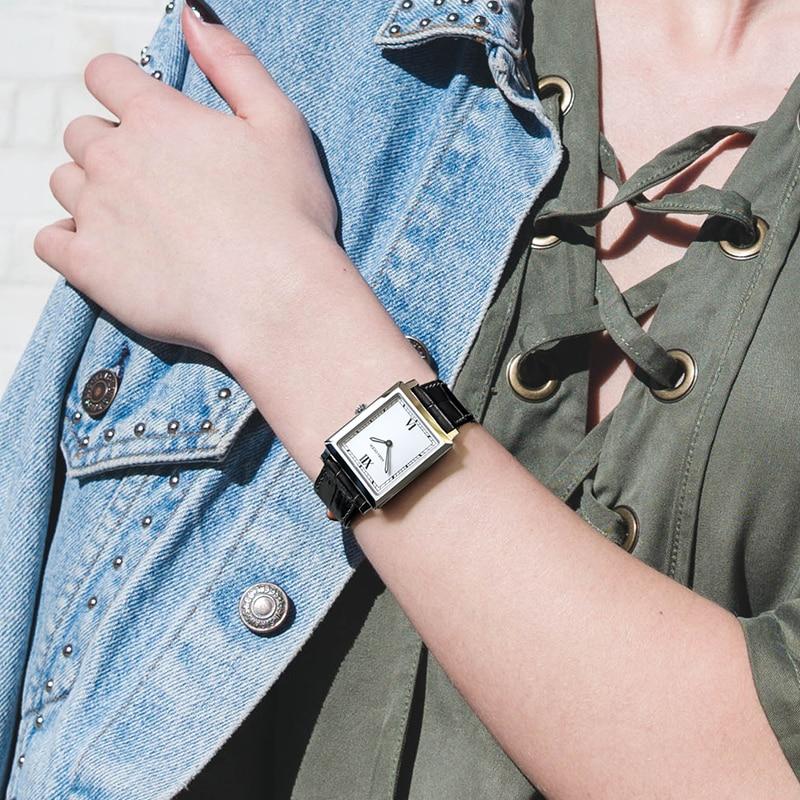 AGELOCER suisse montres femmes marque de luxe montre Quartz montres mode acier piqué 50 m décontracté 3401A1