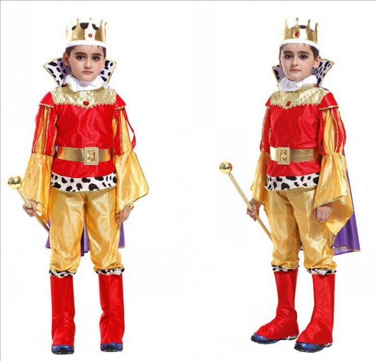 2019 New Kids Carnival Clothing Halloween Children's Costume Boy Prince Cosplay  Costume Party Role Play Costu Prince's Costumes