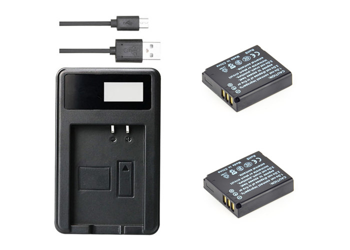2x CGA-S005 Batetry for Panasonic Lumix DMC-FX12 FX100 FX150 FX180 /&USB Charger