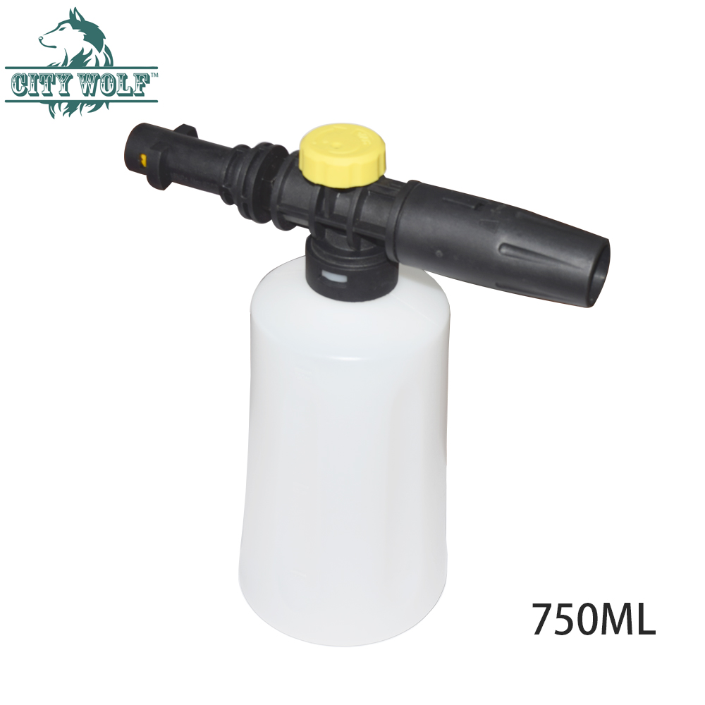 Image 3 - City Wolf Car washer foam nozzle soap sprayer bottle  for Karcher K2  k7 high pressure washer car cleaning accessories-in Car Washer from Automobiles & Motorcycles