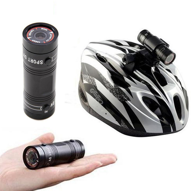 Mini F9 Full Hd 1080p Waterproof Bike Motorcycle Helmet Outdoor