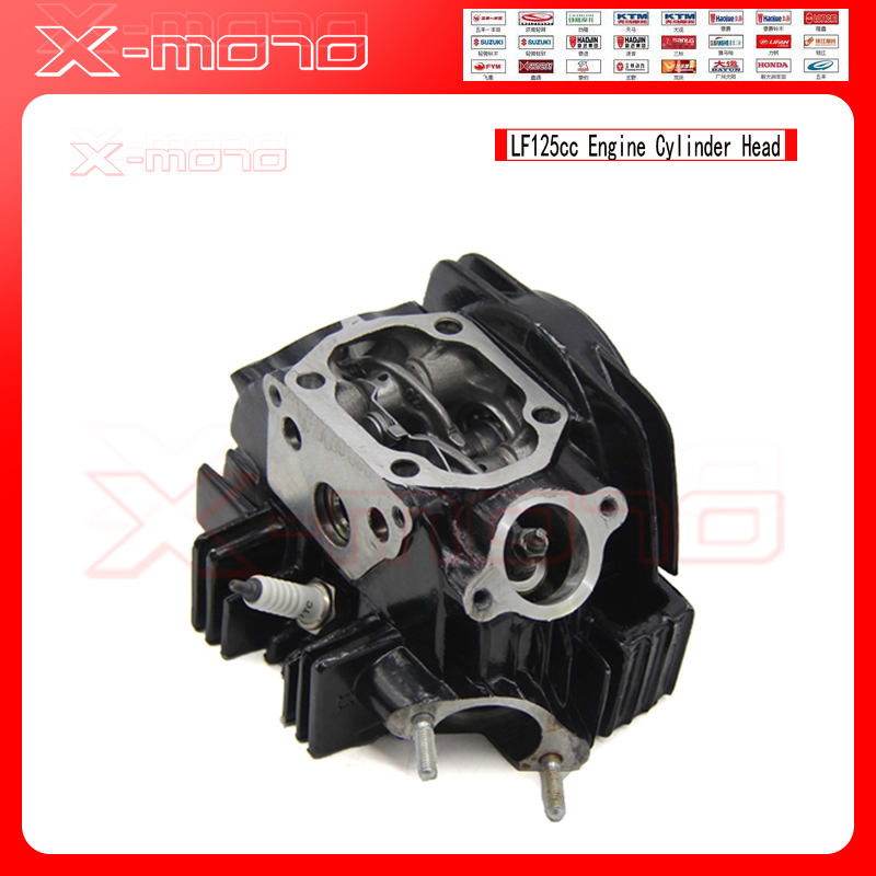 LIFAN LF 125CC LF125 Engine Black Cylinder Head fit Most of Chinese Pit bike ATV запчасти для мотоциклов lifan lf125 9t