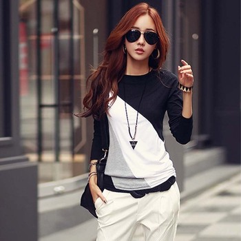Long Sleeve Blouse Women Shirts Woman Clothes Plus Size Ladies Chemise Femme