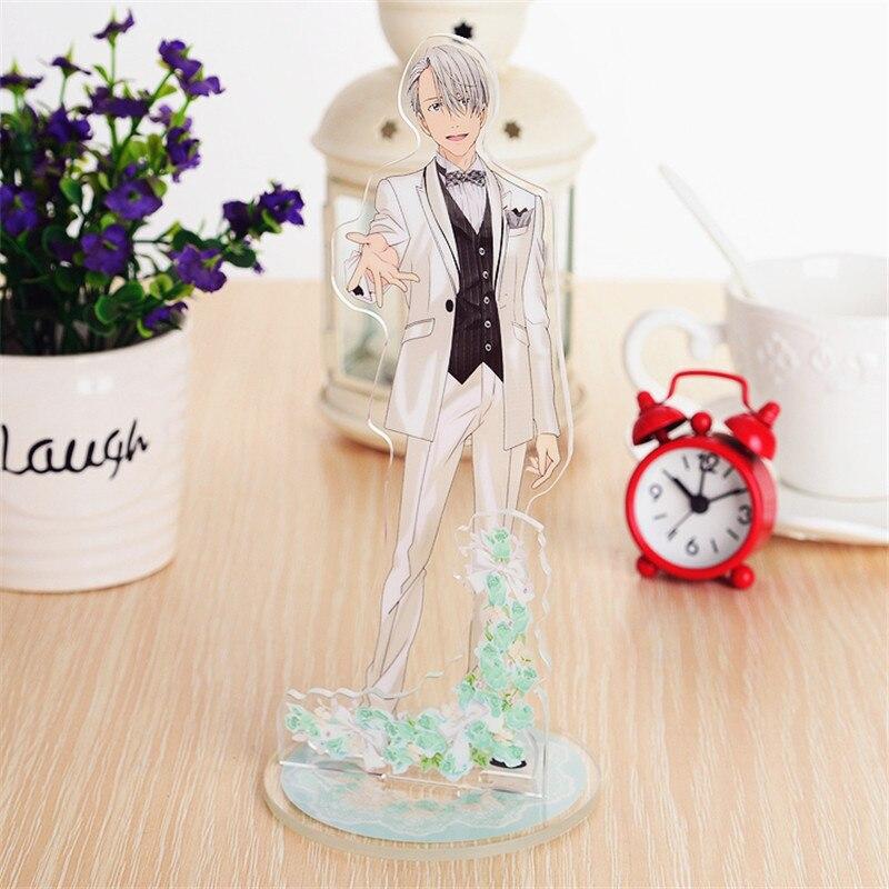 YURI!! on ICE Nikiforov Victor acrylic stand figure model anime toy 15cm
