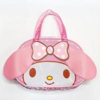 c76aceec24c0c Cute Big Cartoon Hello Kitty My Melody Transparent Backpack PVC Waterproof  Jelly Large Shoulder Bags Handbag