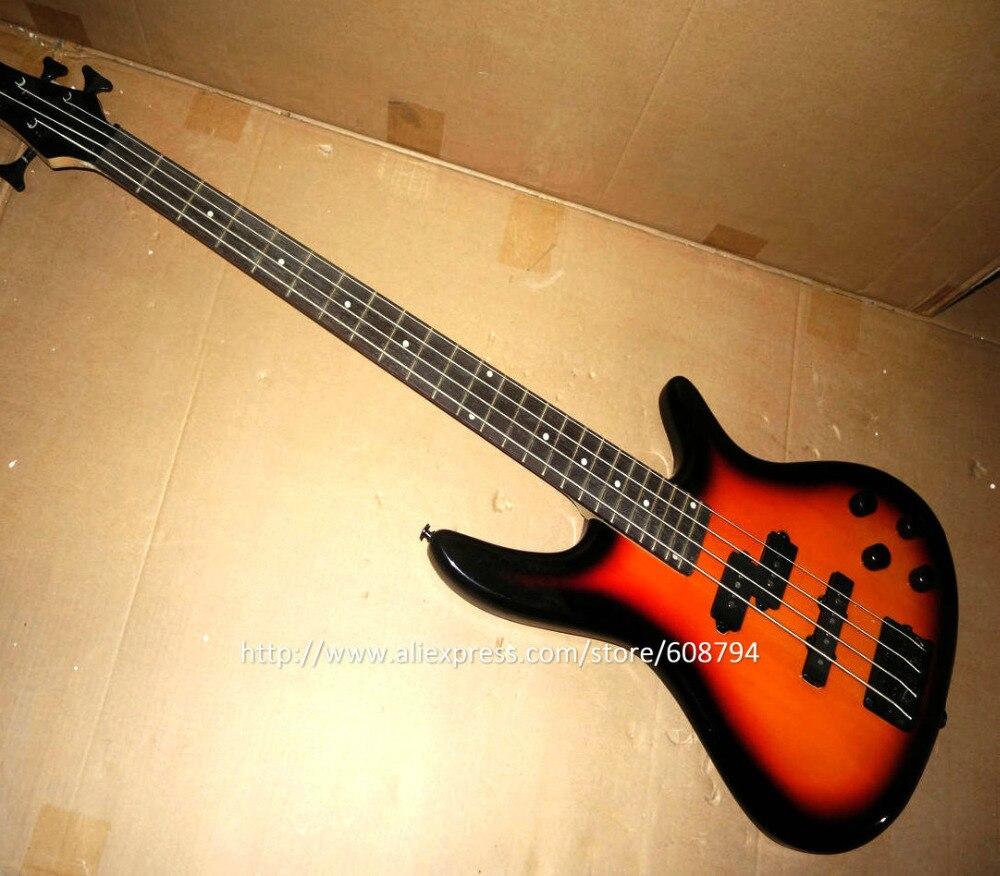 old sunburst 4 strings bass guitar in stock sample repair very cheap 4 strings bass china guitar. Black Bedroom Furniture Sets. Home Design Ideas