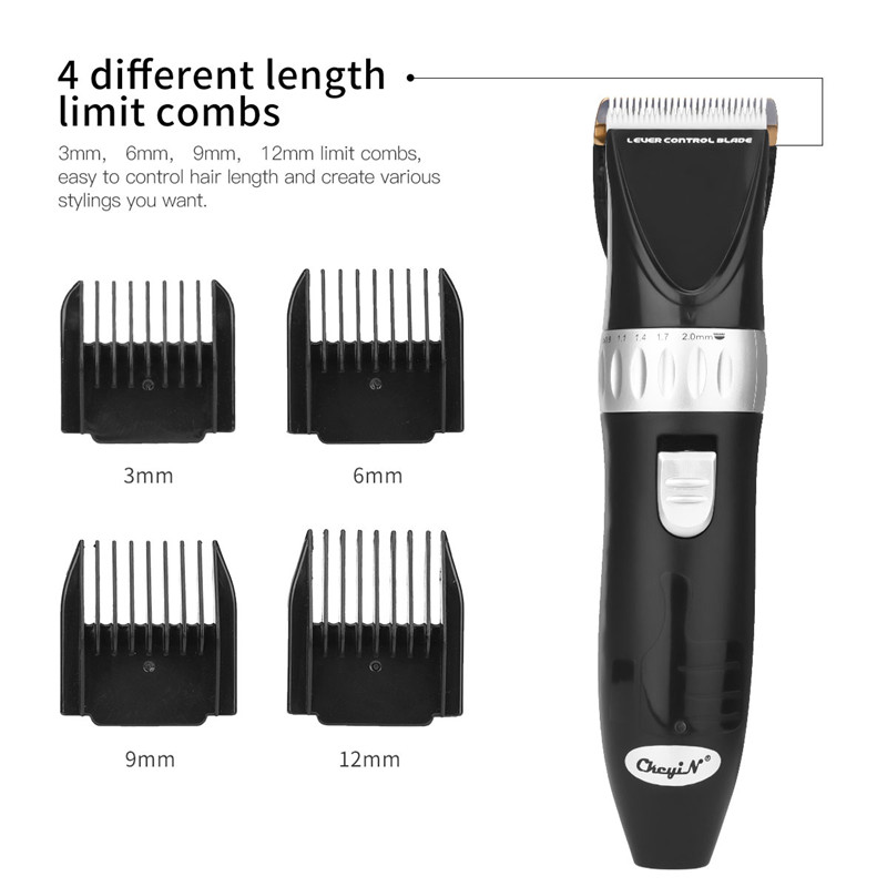 Titanium Alloy Blade Electric Hair Clipper Kit Professional Hair Trimmer Barbershop Hair Cutting Machine Home Hairstyle Tool 31Titanium Alloy Blade Electric Hair Clipper Kit Professional Hair Trimmer Barbershop Hair Cutting Machine Home Hairstyle Tool 31