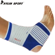 Free shipping adjustable Ankle Support  2015 new 1 pair ankle pad protection elastic brace guard support sports gym blue