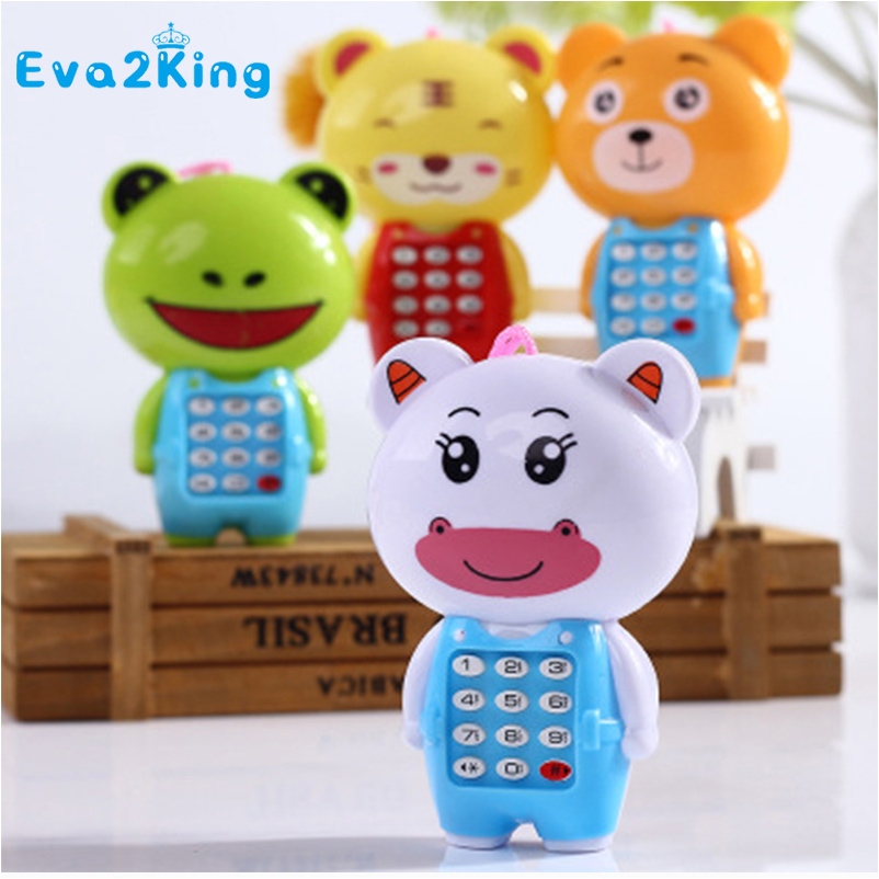 Eva2king Hot Sale Musical Educational Learning Intelligent Toy Phone Children Enlightenment Electronic Toys For Kids Baby