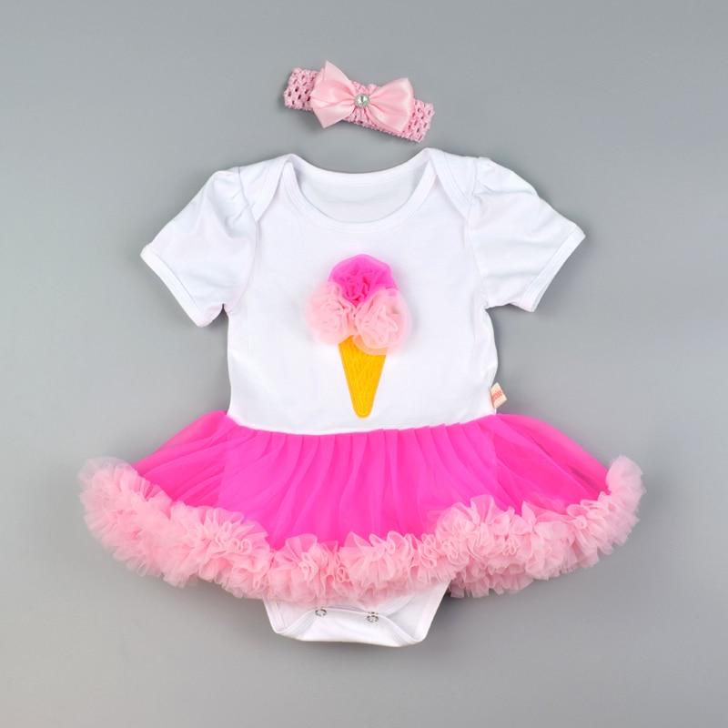 bf84e6a8b59 Φόρεμα για τα βρεφικά κορίτσια Ραντεβού για τα γενέθλια Κορμάκια για ...