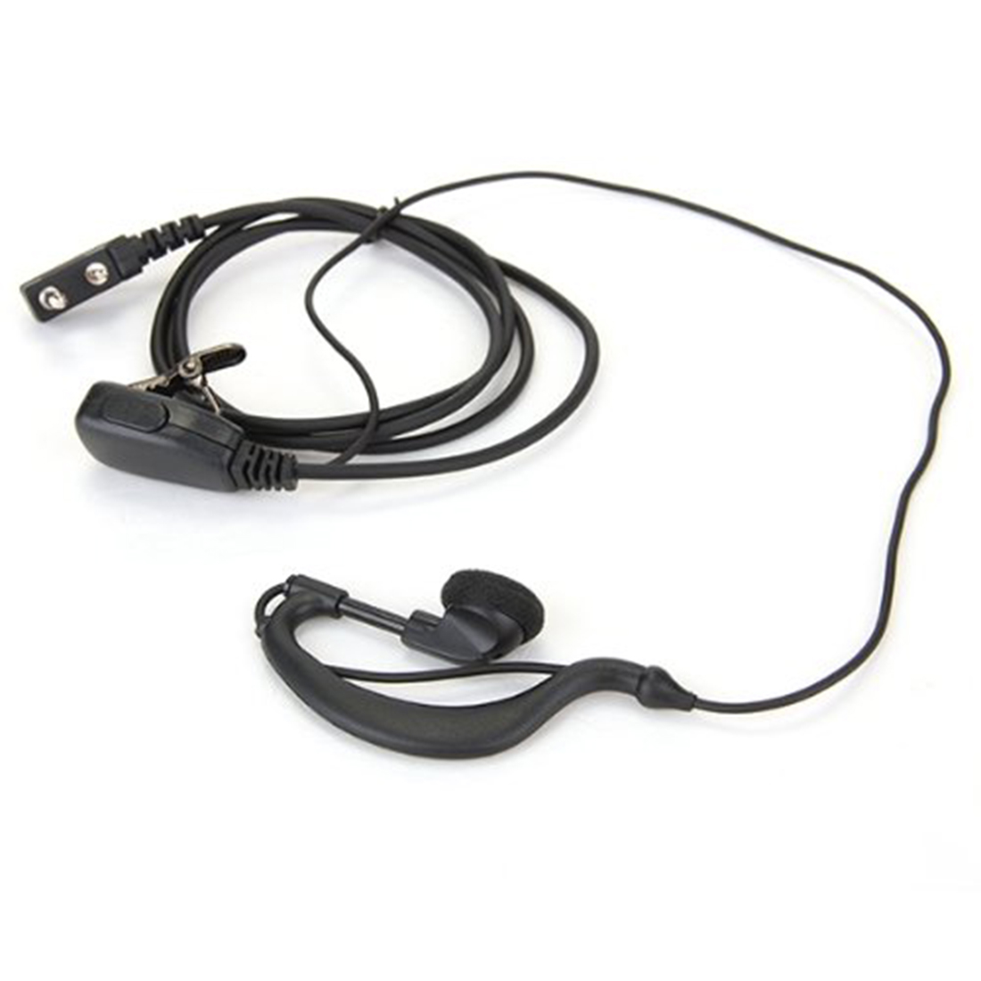 2015 de Alta Calidad Negro Earhanger Oído-Gancho Auricular Auricular Auricular p