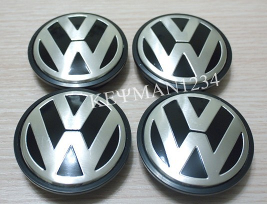 65mm Wheel Center Caps Hub Cap VW Polo Golf Passat Bora Bettle Jetta - DME AUTO store