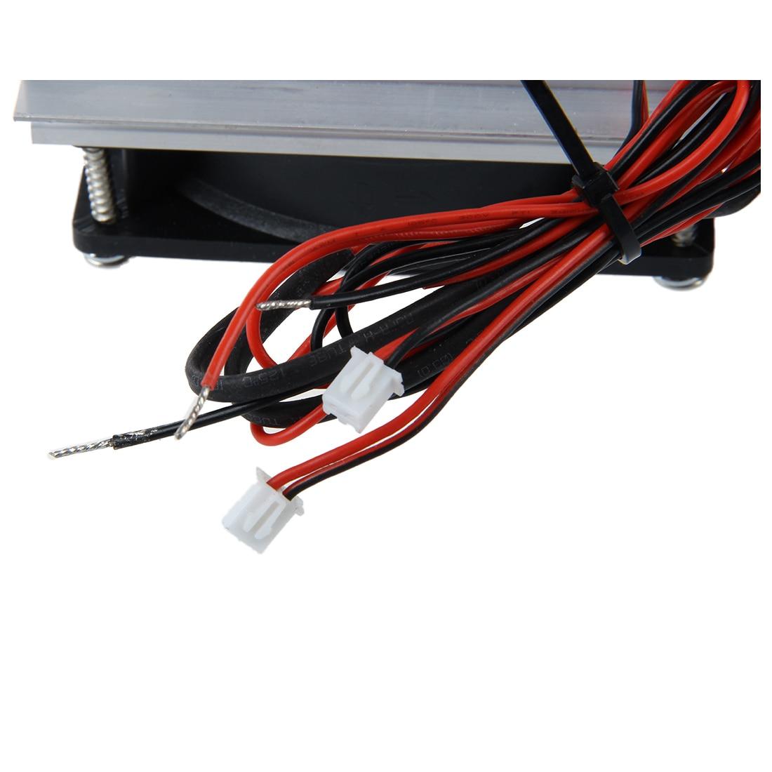sistema de refrigeracao termoeletrico peltier refrigerador ventilador duplo diy 05