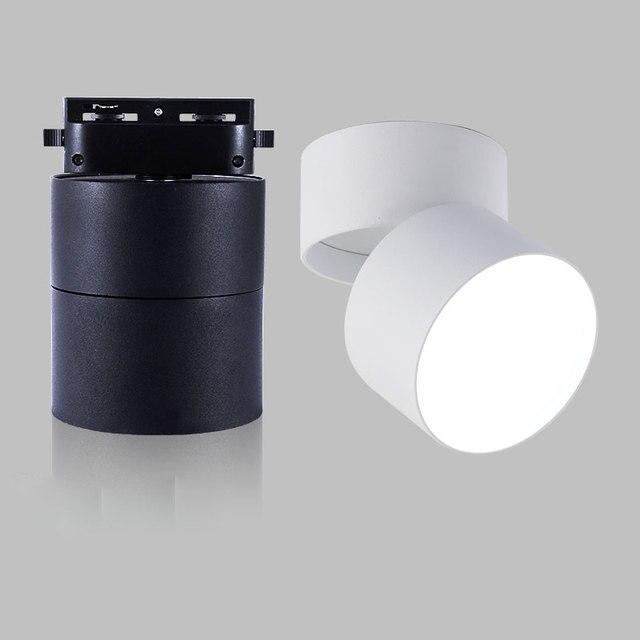 LED Downlight luzes Do Ponto Do Teto para Sala de estar Lâmpada 7 w 12 w 15 w Iluminação de Teto Para Cozinha Casa de Banho de luz montagem em superfície