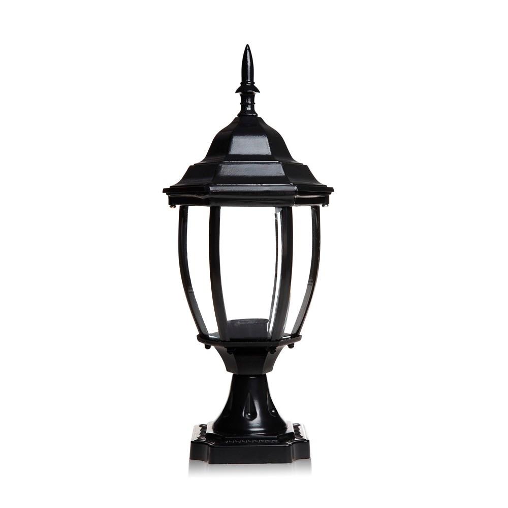 1pc 85V 280V Pillar Fence Lights Outdoor Lamp Post Cap Aluminum Heat  Resistant Top Pillar Lamp Waterproof Path Lamp In Outdoor Landscape  Lighting From ...