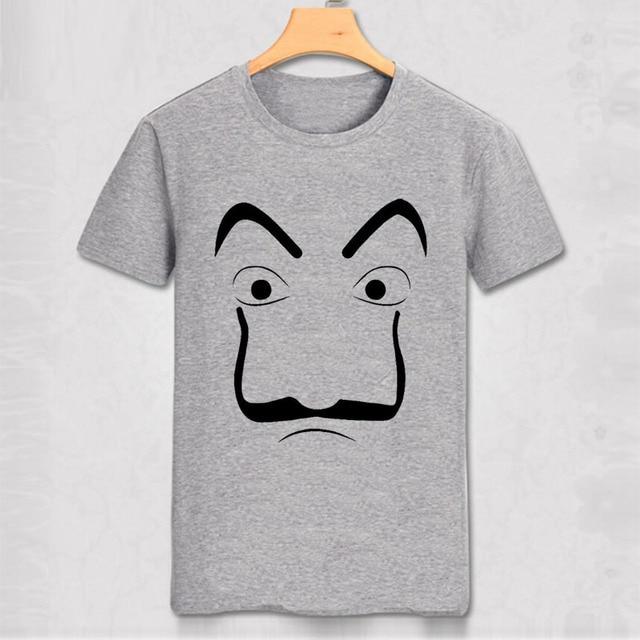 La Casa De Papel Dali Mask Tokyo Rio Professor Oslo Unisex T Shirt