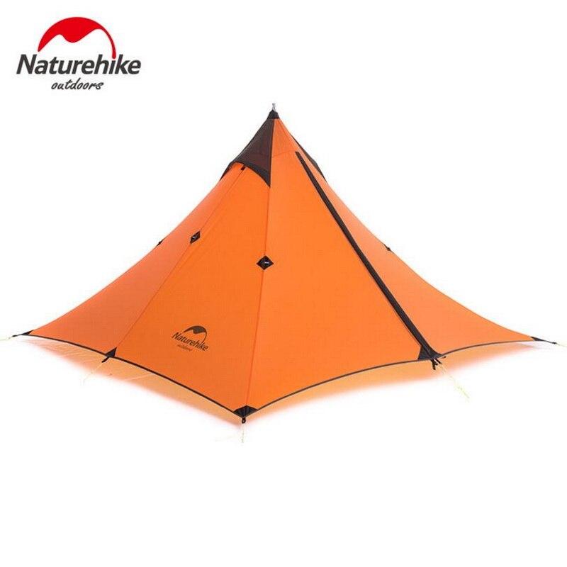 Tente à baldaquin simple de Minaret de randonnée naturelle tente de Camp imperméable Double de Trekking en plein air légère