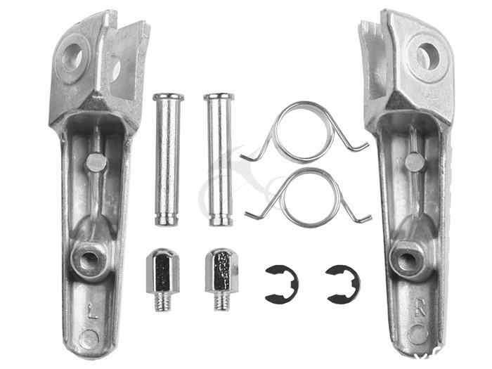 Par patas delanteras pedales para Honda CBR 1000cr 2004-2014 CBR 600hr 2003-2006 CB1000R 2008-2014 motocicleta