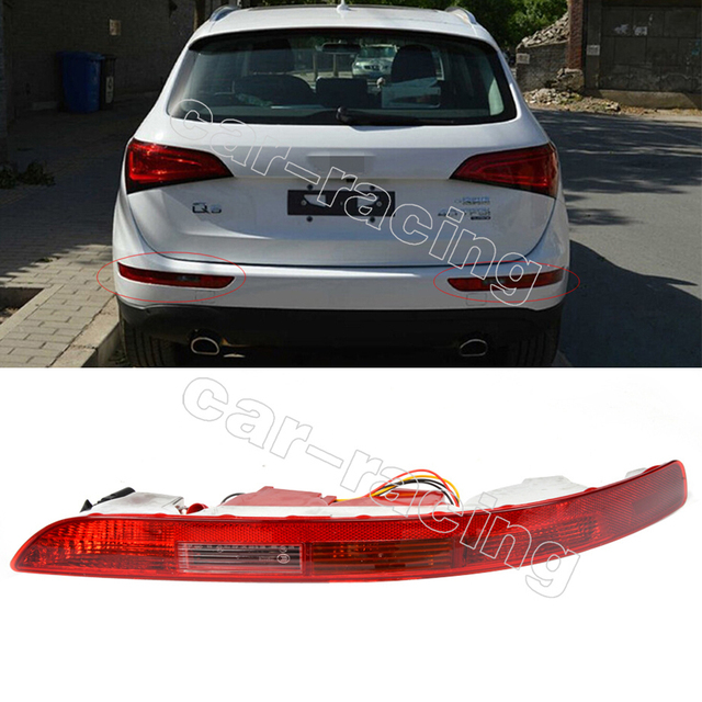 Q5 ABS Rear Right Lower Bumper Tail Light Reverse Stop Fog TailLamp For AUDI Q5 09-12 OEM NO.:8R0945096