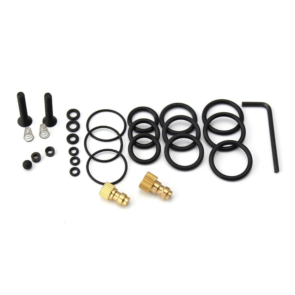 PCP Pump Sealing O-rings High Pressure Air Pump Accessories Spare Kits NBR Copper 40mpa 400bar 6000psi Replacement Kit 28PCS/SET