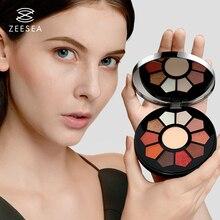 ZEESEA Beauty Makeup Eyeshadow Palette Long Lasting Glitter Waterproof Professional Full 11 Colors 14.5g