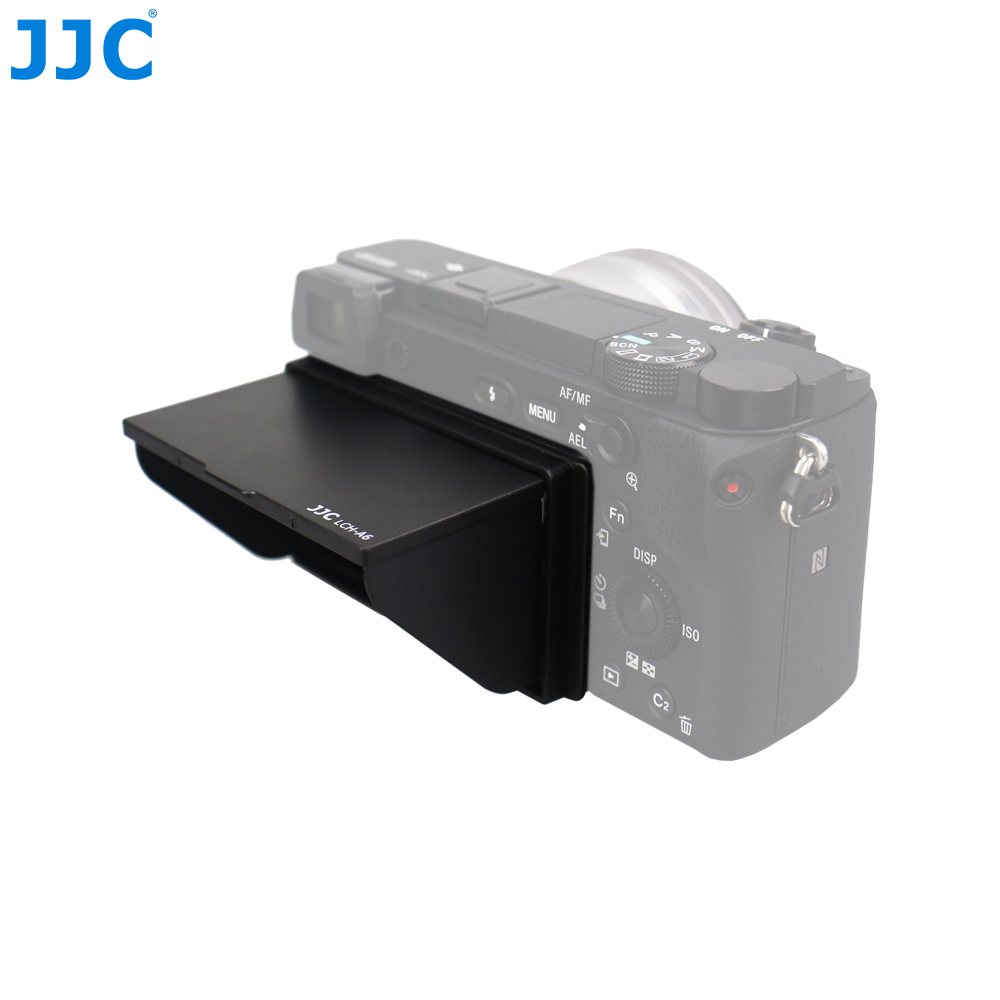 JJC LCD Hood Professional Cameras Screen Protector ABS Cover For Sony A6500 A6300 A6000