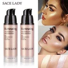 Профессиональный жидкий текстовый маркер Блестящий бронзер осветитель макияж светящийся набор инструменты для макияжа лица MV99