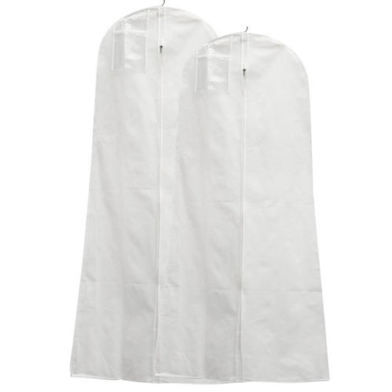 Wedding Gown Preservation Bag: Wedding Dress Cover Storage Bag Extra Large Garment Bridal