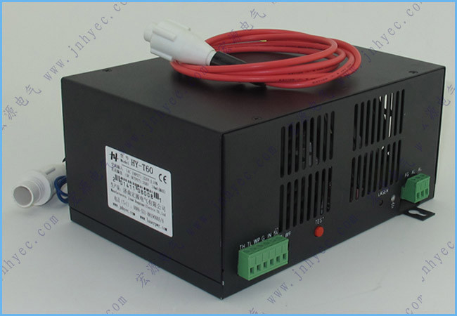Hair Extensions & Wigs Factory Wholesales T60 Co2 Laser Power Supply 60w For Laser Machine