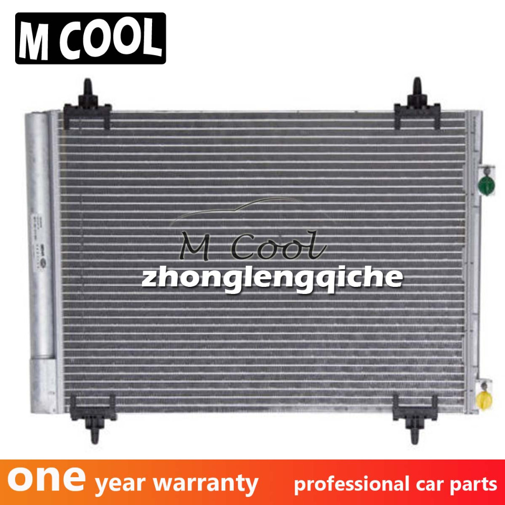 Nouveau AC Condenseur Automatique Pour Citroen Berlingo B9 1.6 C4 2008-2016 Pour Peugeot 307 6455GH 6455CX 169928 9682531580 9650545480
