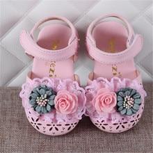 Xinfstreet Baby Girls Shoes Summer Flowe
