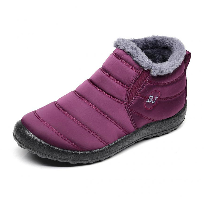 Zapatos Blue men Impermeable Invierno Antideslizante Brown Rosered Nuevo Blue Mujer Térmico Nieve Fondo Felpa women Caliente Brown Black Women men Unisex Black De 2019 women women Botas men YfqzT